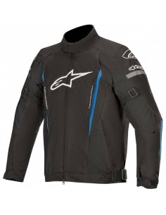 Chaqueta Alpinestars Gunner V2 Waterproof | Negro y azul