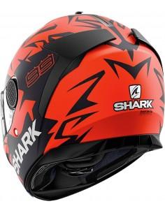 Casco Shark Spartan 1.2 Réplica Lorenzo Austrian GP | Mate - Rojo - negro - rojo