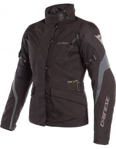 Chaqueta Dainese Tempest 2 Lady D-Dry | Negra y ébano