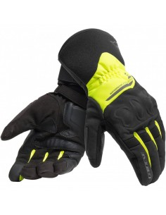 Guantes Dainese X-Tourer D-Dry | Negros y amarillo fluor
