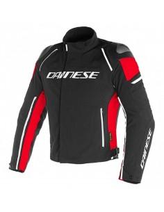 Chaqueta Dainese Racing 3 D-Dry Negra y roja