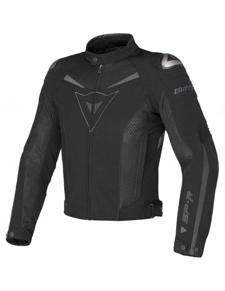 Chaqueta Dainese Super Speed Tex Negra y gris