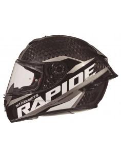 Casco MT Rapide Pro Carbon C2 | Carbono y gris