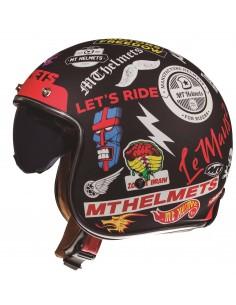 Casco MT Le Mans 2 SV Anarchy A1 | Negro mate