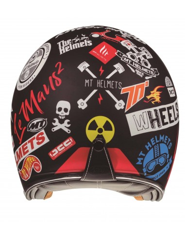 Casco MT Le Mans 2 SV Anarchy A1 | Negro mate