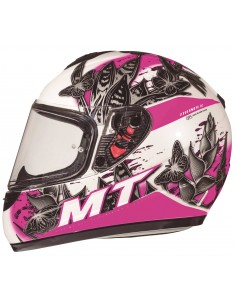 Casco MT Thunder Kid Breeze D8 | Rosa