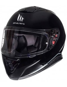 Casco MT Integral Thunder 3 SV Solid | Negro brillo