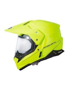 Casco MT Synchrony Duo Sport SV Solid | Amarillo fluor