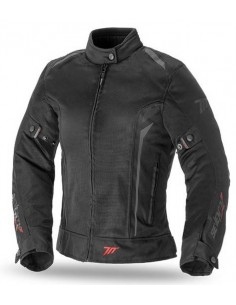 Chaqueta Mujer Seventy Degrees SD-JT36 Touring | Negra y gris