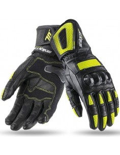 Guantes Mujer Seventy Degrees SD-R20 Racing | Negros y amarillo fluor
