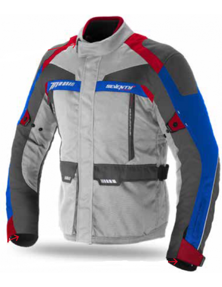 Chaqueta Seventy Degrees SD-JT43 Invierno Touring | Ice