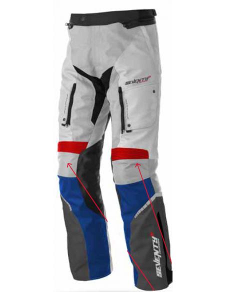 Pantalón Unisex Seventy Degrees SD-PT3 | Hielo - rojo - azul