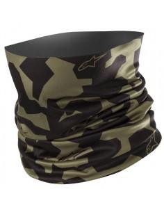 Cubrecuello Alpinestars Camo | Verde militar y negro