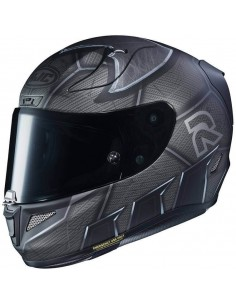 Casco HJC RPHA 11 Batman DC Comics MC5SF | Mate - Gris y negro