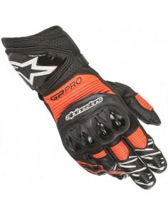 Guantes Alpinestars GP Pro R3 | Negro y rojo fluor