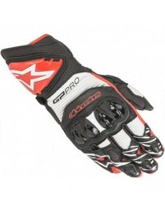 Guantes Alpinestars GP Pro R3 | Negro-blanco-rojo