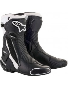 Botas Alpinestars SMX Plus V2   Negro y blanco