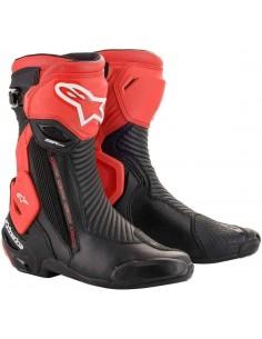 Botas Alpinestars SMX Plus V2   Negro y rojo