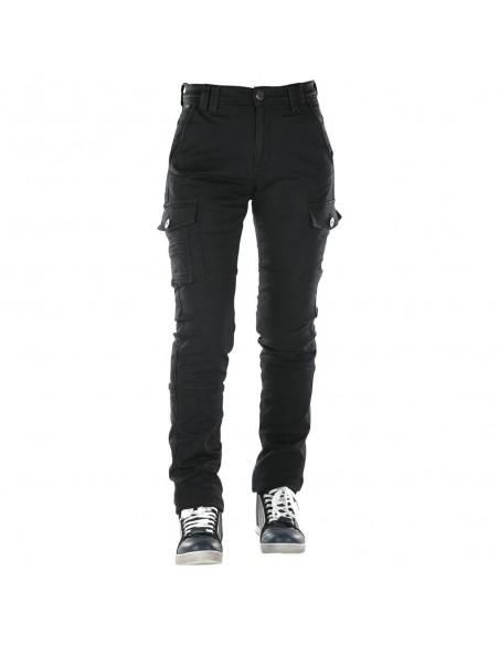 Pantalones Vaqueros Overlap Carpenter Lady | Negro