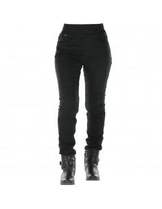 Pantalones Vaqueros Overlap Jane   Negro