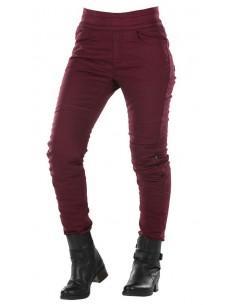 Pantalones Vaqueros Overlap Jane | Burdeos