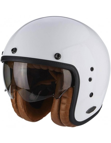Casco Scorpion Belfast Luxe | Blanco