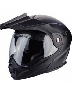 Casco Scorpion ADX-1 Solid | Mate - Negro
