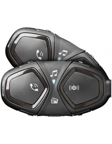 Intercomunicador Interphone Active Twin Pack