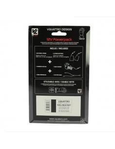 2 Baterías y Cargador Vquattro para Guantes Calefactables