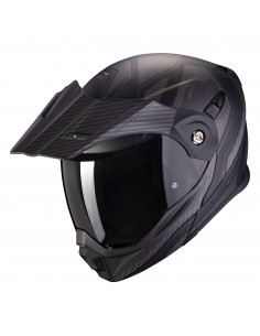Casco Scorpion ADX-1 Tucson | Mate-Carbono y negro