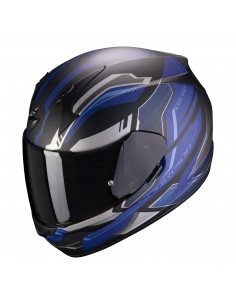 Casco Scorpion Exo-390 Boost | Negro-blanco-rojo