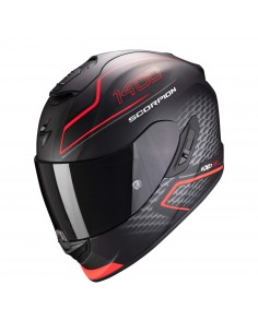 Casco Scorpion Exo-1400 Air Galaxy | Mate-Rojo