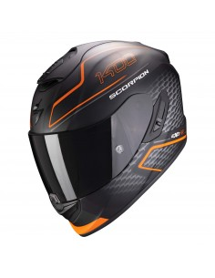 Casco Scorpion Exo-1400 Air Galaxy | Mate-Naranja