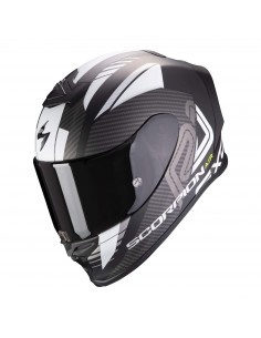 Casco Scorpion Exo-R1 Air Halley | Mate-Negro y blanco