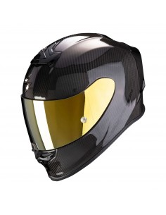 Casco Scorpion Exo-R1 Carbon Air Solid | Mate-Negro