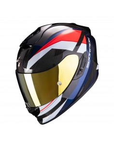 Casco Scorpion Exo-1400 Carbon Air Legione | Rojo y azul