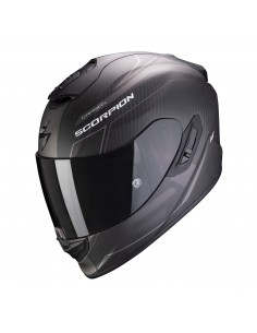 Casco Scorpion Exo-1400 Carbon Air Beaux | Mate-Negro y plata