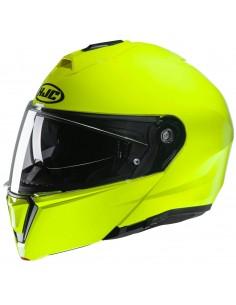 Casco HJC i90 Sólido Fluor | Verde fluor