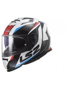 Casco LS2 FF800 Storm Racer | Azul y rojo