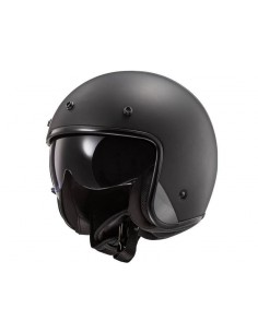 Casco LS2 OF601 Bob HPFC Solido | Negro mate