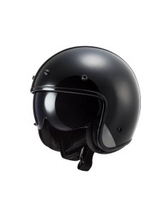 Casco LS2 OF601 Bob HPFC Solido | Negro