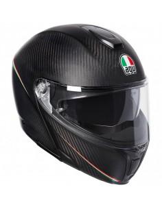Casco AGV Sportmodular Tricolore | Mate-Carbono-Italia