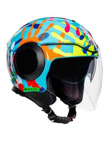 Casco de moto AGV Orbyt Monocolor