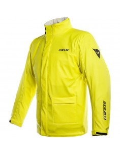 Chaqueta Impermeable Dainese Storm | Amarillo fluor