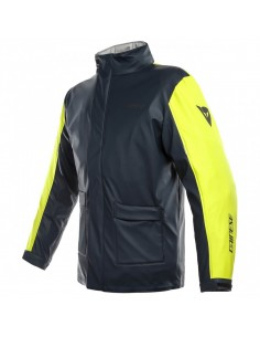 Chaqueta Impermeable Dainese Storm | Antrax y amarillo fluor