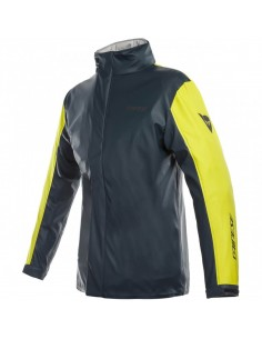 Chaqueta Impermeable Dainese Storm Lady | Antrax y amarillo fluor