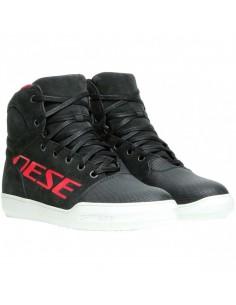 Zapatillas Dainese York D-WP | Negro y rojo