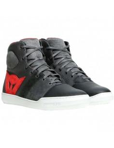 Zapatillas Dainese York Air | Negro y rojo