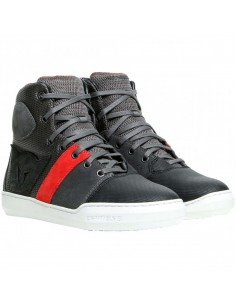 Zapatillas Dainese York Air Lady | Negro y rojo