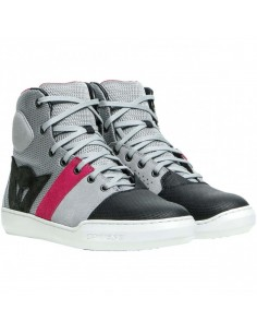 Zapatillas Dainese York Air Lady | Gris y coral